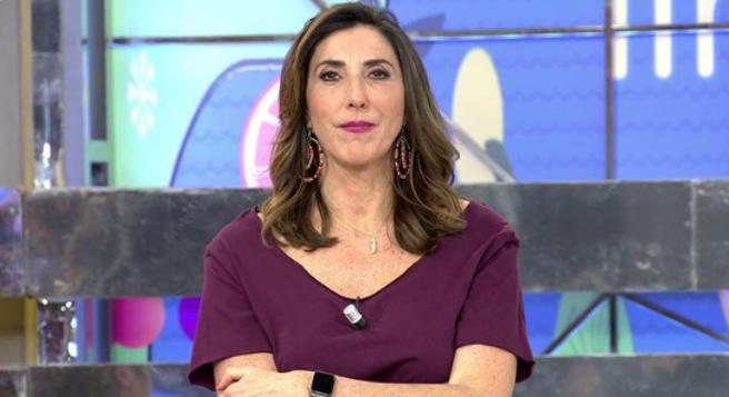 Paz Padilla breekt los met Pablo Motos